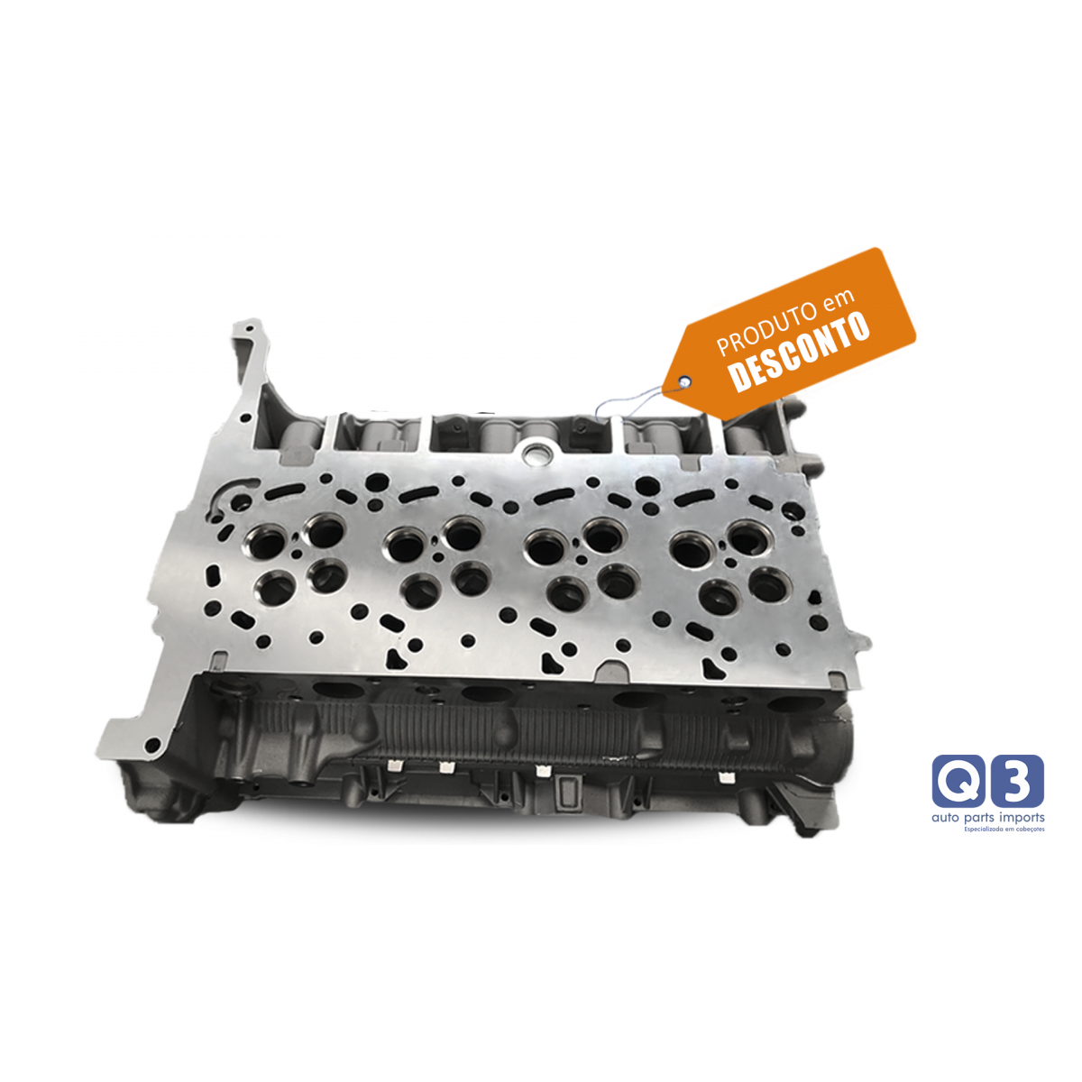 Cabeçote Ford Transit 2.4 16V motor Duratorq Novo